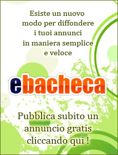 Inserisci un annuncio in eBacheca.it